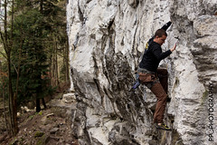 Monthey VS (pass_the_popcorn) Tags: rock climbing fels rockclimbing wallis valais klettern monthey