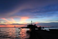 Sunset (Shedyler) Tags: sunset island golden philippines silhouettes hour samar almagro calbayog shedyler guinansan
