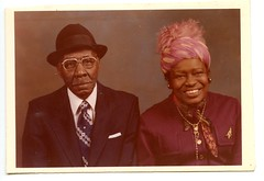 (edition_of_one) Tags: black hat couple alabama africanamerican foundphoto churchlady pinkhat vintagephoto marriedcouple oldmarriedcouple africanamericancouple