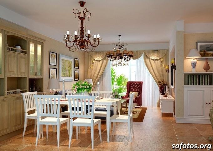 Salas de jantar decoradas (171)