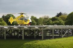 Air Ambulance G-BZRS (John Ambler) Tags: hospital john air pad hampshire ambulance helicopter isleofwight isle heli 56 wight stmarys helipad ambler airambulance gbzrs helimed helicopterlandingpad johnambler helimed56
