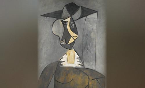 "Mujer en Gris, caracterización de Pablo Picasso (1942), recreación de Roy Lichtenstein (1962). • <a style=""font-size:0.8em;"" href=""http://www.flickr.com/photos/30735181@N00/8815850520/"" target=""_blank"">View on Flickr</a>"