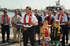 National Safe Boating Week (Coast Guard News) Tags: us miami fl barney miamidade firerescue nationalsafeboatingweek