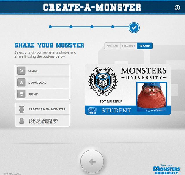 【怪獸大學】將你自己化身為怪獸吧!