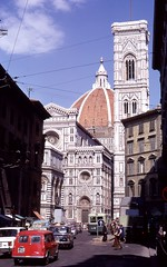 Duomo, Florence, Italy, 1969 (bmthomas1944) Tags: italy 1969 florence duomo overland hippietrail colombotolondon