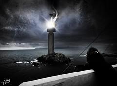 Keeper of light (annikbo) Tags: ocean light sea lighthouse house water norway coast norge waves north atlantic norwegian vann fyr hav trn vatn sj blger kyst fyrtrn krkenes fyrlykt nordsjen atlanterhavet norskehavet vgsy