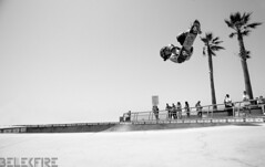 (belkebirsofiane) Tags: venice white black beach flying kid high skateboarding 360 riding skate sick talented