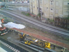 Record by Always E-mail, 2013-06-19 05:29:58 (atlanticyardswebcam) Tags: newyork brooklyn webcam prospectheights atlanticyards vanderbiltrailyard 696716atlanticavenue 718728atlanticavenue block1120