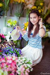 Fille de Fleur - Nguyễn Hồng Ân (THOAI Photography) Tags: floral fleur beauty vietnam yan saigon hồng ân d700 teefoto yannews
