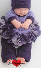"Crochet Baby Set • <a style=""font-size:0.8em;"" href=""http://www.flickr.com/photos/66263733@N06/9403511509/"" target=""_blank"">View on Flickr</a>"