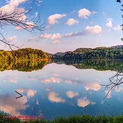 Radnor Lake Sunset - August 1, 2013 (HDR/Panorama) (mikerhicks) Tags: summer panorama landscape geotagged unitedstates nashville hiking tennessee hdr ptgui photomatix tennesseestateparks radnorlakestatepark canon7d nashvillehikingmeetup radnorlakestatenaturalarea oakhillestates sigma18250mmf3563dcmacrooshsm geo:lat=3606268640 geo:lon=8680368660