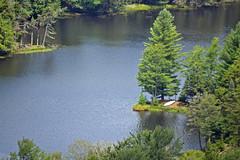 The Lonely Canoe (MTSOfan) Tags: summer lake view adirondacks chairlift mccauleymountain