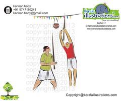 8 (kannanalpy) Tags: festival illustration king paintings illustrations kerala vector onam puli maveli pookalam uriyadi mahabali onathappan pulikali keralafestival onamfestival pattom onamcelebration keralaillustration kuuti
