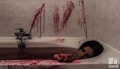 Bath Murder (JSinnay) Tags: canon de dead bathroom eos death blood bath mort rita trinity 7d murder bain dexter sang salle baignoire meurtre