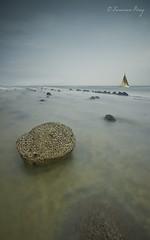 Memoria del agua. (Francisco J. Prez.) Tags: verde nature water atardecer mar spain agua paisaje panoramica cdiz playas armona sigma1020mm campodegibraltar pentaxart pentaxk5 franciscojprez