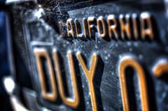 2013 San Francisco 005 (TVGuy) Tags: sf california old plate license