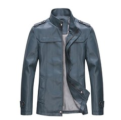 8708 PU leather jacket gray and blue (strandsglobal@gmail.com whatsapp: +60126467288 ) Tags: leather fashion vintage silver costume watches crystal brooch caps hats jewelry retro jewellery clothes canvas gifts shirts dresses backpacks tibetan clutch bracelets swarovski earrings bags scarves handbags tshirts ethnic promotional pewter tops tote jackets necklaces promotions hoodies wallets totebags giveaways polos fashionjewelry sportscaps