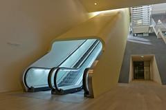 Escalator - Stedelijk Museum (Merlijn Hoek) Tags: art amsterdam modern nikon fotografie modernart kunst noflash moderne 28 nikkor modernekunst stedelijkmuseum d800 2014 2470mm merlijnhoek colectie nikond800