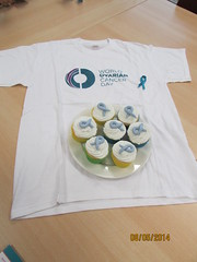 Word Ovarian Cancer Day - May 8th 2014 @ Recordati Ireland