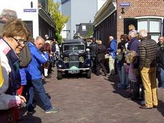 1933 Peugeot 201 BC (Davydutchy) Tags: auto people holland classic netherlands car automobile tour rally crowd may nederland cities voiture massa finish vehicle oldtimer eleven friesland rallye mensen klassiker 2015 frysln sleat elfstedentocht vetern sloten menigte automobiel