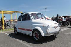 500 Abarth (xwattez) Tags: auto old france car italian automobile fiat parking voiture transports 500 ancienne abarth 2015 italienne véhicule rassemblement launaguet simplymarket