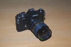 Maginon K1000 (johnpaulwarwick) Tags: camera slr vintage lens photography photo k1000 maginon