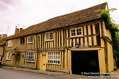 Historic Medieval Town Of Lavenham, Suffolk