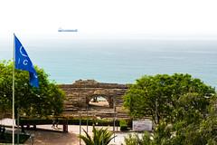 Amfiteatre (nglsantiago) Tags: sea roma mar mediterranean roman amphitheatre historic empire monumentos monuments tarragona anfiteatro amfiteatre