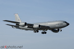USAFE KC-135 (Andy Sneddon - airXphoto.net) Tags: boeing usaf tanker kc135 stratotanker rafmildenhall andysneddon airxphotonet
