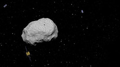 Asteroid Impact Mission spacecraft (europeanspaceagency) Tags: aim spacecraft asteroid didymos asteroidimpactmission