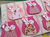 owls (vaninha.canhadas) Tags: pink girl sweet handmade rosa craft mimo lovecraft owl bookmarks teatime owls inlove bookmark marcapaginas lembrancinhas horadochá corujinhas