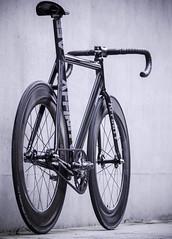 My AFFINITY Kissena / Black M (father TU) Tags: bike track fixie fixedgear r1 kissena volta fsa fizik affinity aarn fathertu