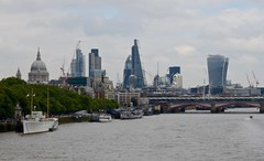 The City of London (Nige H (Thanks for 5m views)) Tags: london skyline architecture river riverthames cityoflondon
