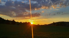 Good Morning (J.L. Ramsaur Photography (Thank You for 4 million ) Tags: sunrise goodmorningsunshine tennesseesunrise middletennessee jlramsaurphotography jlrphotography sunflare lensflare flare lgg4 tennesseephotographer lg g4 photography photo cookevilletn putnamcounty tennessee 2016 engineerswithcameras cumberlandplateau photographyforgod thesouth southernphotography screamofthephotographer ibeauty photograph pic cookevegas cookeville cookevilletennessee sunset sun sunrays sunlight daytime sunglow orange yellow blue bluesky deepbluesky beautifulsky whiteclouds clouds sky skyabove allskyandclouds landscape southernlandscape nature outdoors godsartwork naturespaintbrush rural ruralamerica ruraltennessee ruralview smalltownamerica americana