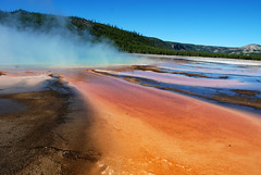 Grand Prismatic Spring, Yellowstone (Kathy Perry) Tags: grandprismaticspring yellowstonenationalpark hotspring travel color