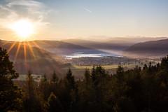 Sunrise (He_Da) Tags: zug switzerland schweiz sun sonne sunrise sonnenaufgang sonnenstrahlen sunbeams sunday lake gerisee gerital