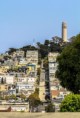 Coit Tower (Lalalleba) Tags: sanfrancisco coittower city street buildings
