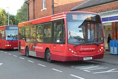 Now when I were a lad............... (AndrewHA's) Tags: epping station essex bus regal busways adl alexander dennis enviro 200 652 mx10dxo route 382 toothill londontransport 381 guy special ecw gs