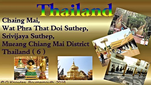 Chiang Mai, Wat Phra That Doi Suthep or Wat Phra That, Chiang Mai Province, Thailand. ( 6 )