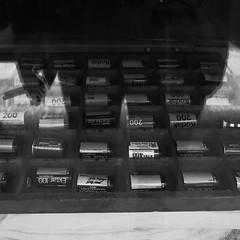 photowalk2 (lux fecit) Tags: paris photowalk onedayinparis exhibition film photography contrast reflet reflection window sp cigarette nb bw