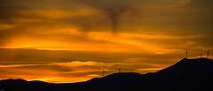 Les silhouettes........ (Bouhsina Photography) Tags: silhouette turbines vent hlices montagne coucher soleil sunset ttouan maroc morocco bouhsina bouhsinaphotogrphy panorama vue ciel nuages 2016 canon 5diii ef100400 ombres