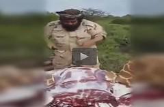 سعودي ذبح زرافة وقدمها لضيوفه (ahmkbrcom) Tags: تنزانيا كينيا مقطعفيديو