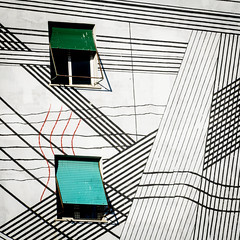 (massimopisani1972) Tags: garbatella roma rome italia italy nikon 28300 quartieregarbatella windows finestre murales massimopisani massimo pisani d610 20300