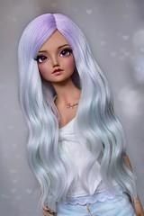 (4arllin) Tags: bjd minifee mnf doll alpaca wig fairyland tan shushu mod sp sleeping