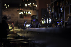 thirst (mamuangsuk) Tags: thirst bar pub bokeh shallowdof pdc lightcircles 14 tabouret seat ale pression hanger crochet comptoir counter beer xe2 fd5014ssc mamuangsuk