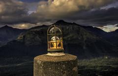 Mountain Sundown (grbenson3) Tags: alaska alyeskahoteltramway girdwood anchorage unitedstates us sunset mountains beacon valley