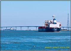 Ozke Aksoy 1577 LR (bradleybennett) Tags: cargo vessel ship shipping delta water river ocean tanker antioch port stockton ozge aksoy