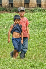 A very different consumerism (Pejasar) Tags: bite shirt cloth inmouth boy boys eltesoro guatemala children poverty green