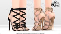 REIGN.- CHELSEA HEELS (Kenadee Reign) Tags: reign reignberry belleza body blueberry heels slink shoes secondlife maitreya mesh themeshproject tmp teamreign