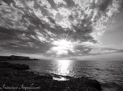 The Sky (Francesco Impellizzeri) Tags: trapani sicilia sunset monochrome